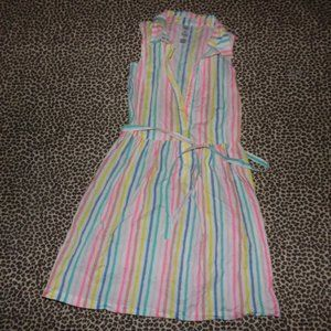 Carters girls 14 Rainbow striped dress
